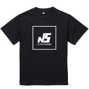 N5 ロゴTシャツ 半袖 黒
