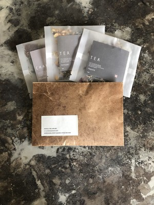 Invitation letter tea pack L『A』