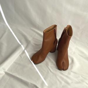 4color : Leather tabi boots 92039 本革 リアルレザー 足袋ブーツ