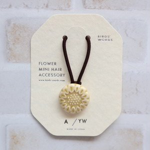 BIRDS´WORDS´(バーズワーズ) FLOWER MINI HAIR ACCESSORY [A]