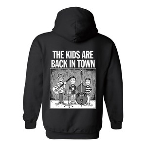 """【受注生産】""""THE KIDS ARE BACK IN TOWN"""" Parka BLACK"""