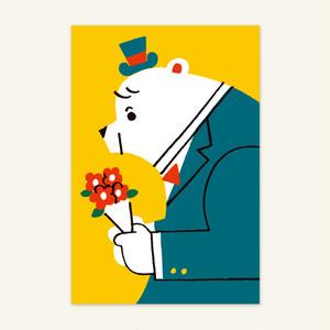 ポストカード(シロクマからの贈り物)