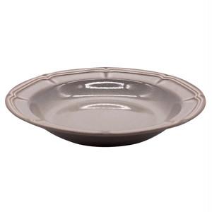 Koyo ラフィネ パスタ ボウル 皿 約26cm ストームグレー 15973010