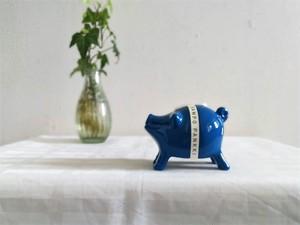 ブタの貯金箱 / フィンランド ヴィンテージ / SAMPO (BL)