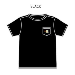 パソコン刺繍Tシャツ(黒)