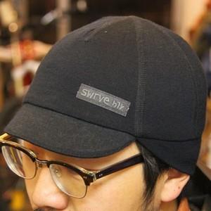 SWRVE lightweight merino belgian cap (black)