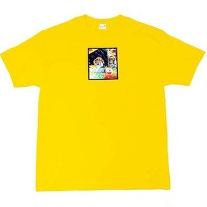 SNACK SKATEBOARDS / MEMO BOOK TEE / YELLOW / Tシャツ / L