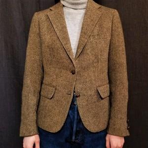 Herringbone tailored jacket [G-979]