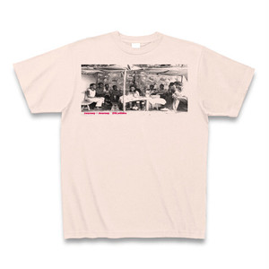 Journey×Journey 26Letters T-shirts from Ethiopia2/Light pink