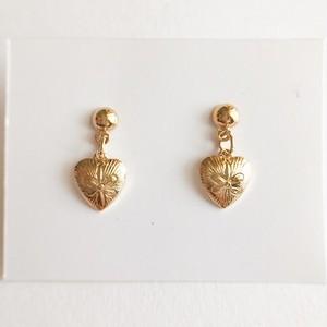 """""""AVON"""" Golden Heart pierce[p-582]"""