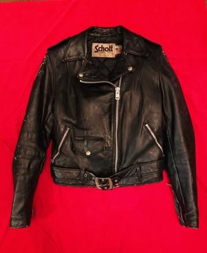 80's Schott Ladies Leather Jacket