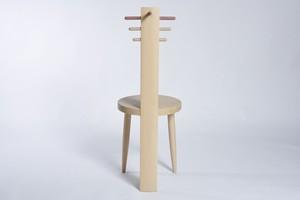 日本の木の椅子 Giraffe