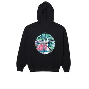 Polar skate co. Garden Fill Logo Hoodie Black ポーラー パーカー