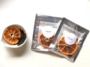 ドライフルーツブレンド茶  凍頂烏龍茶&有機みかん