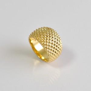 Hedgehog Ring Gold