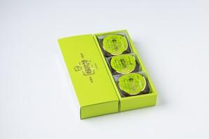 夏限定☆ぬれどら焼きプレミアム 白茶々 3個・ケース入