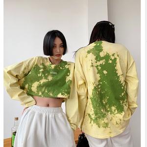 ★UNISEX オルルクDyedロングTシャツ(2col) 109