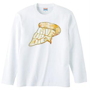 [ロングスリーブTシャツ] Give up diet