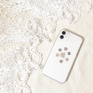 四角デザイン006◇iPhoneケース