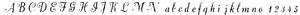 Dorchester Script, 18pt