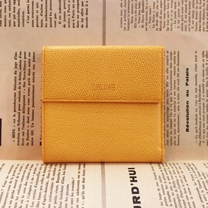-dead stock- CELINE leather wallet