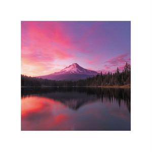Mt.Hoodの夕焼け