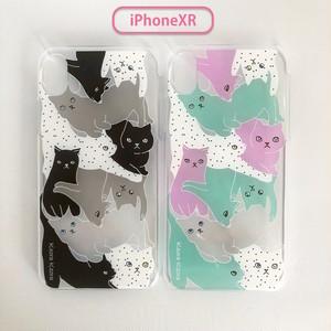 【iPhoneXR専用】アクリルケース CATS
