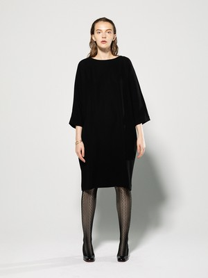 dolman sleeve one-piece(black、navy)