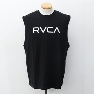 BIG RVCA TANK (BLACK)