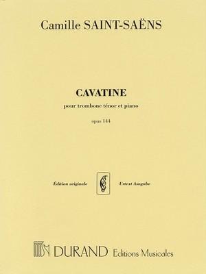 サン=サーンス:カヴァティーヌ/トロンボーン・ピアノ