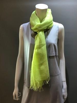 LARIOSETA(ラリオセタ)U919/20903 麻(リネン)100% イタリア製 無地ネオンカラースカーフ