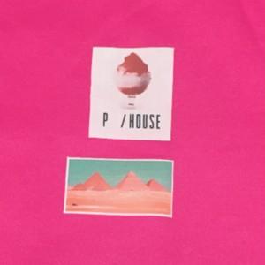 ピラミッド&ICE sweat shock pink