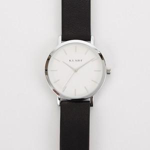 KLARF クラーフ クラシック 38㎜ レザー シルバー/ブラック K-1507