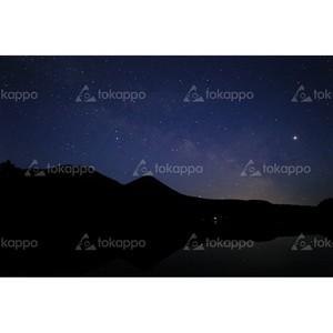 オンネトー夜空