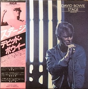 【LP】DAVID BOWIE/Stage