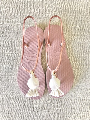 Jelly sandals shell