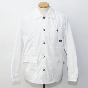 CRAZY PATTERN COACH JACKET (WHITE)