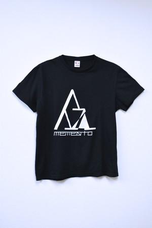 memento森初期ロゴTシャツ(BLACK)