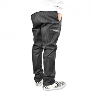 DOUBLE STEAL Side Pocket Tepered Pants