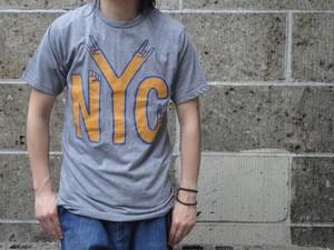PALMER CASH (パルマーキャッシュ) NYC HANDS T-Shirts グレー