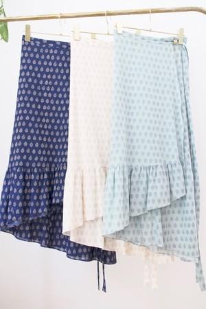 フリルラップスカート