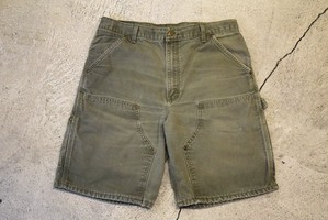 USED Carhartt double knee shorts W34  P0303