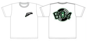 "604 ""Record Attack"" T-Shirt (White)"