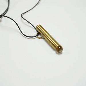 万華鏡・真鍮テレイドペンダント