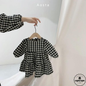 «sold out» gingham check one-piece 2colors ギンガムチェックワンピース