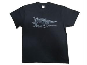 """texas dead armadillo"" T shirts(Black)"