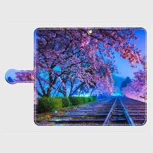 (Android Lサイズ)手帳タイプ:夢色の軌道(KAGAYA)