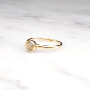 S925 MINI LABRADORITE RING GOLD 001