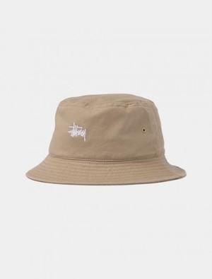 Stussy  Kids Classic Logo Bucket Hat ( ベージュ )  ステューシー キッズ クラッシャーキャップ