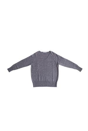 CA & Co. / カシミヤ12ゲージVネックセーター